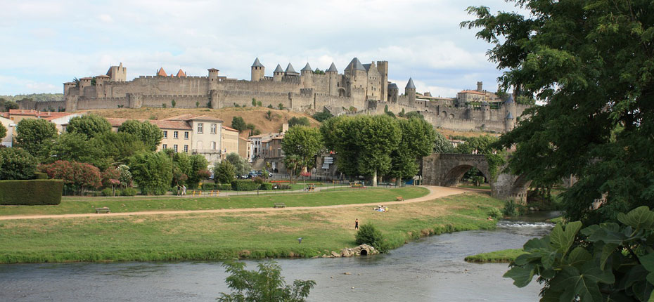 Château Carcassonne proche du camping