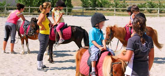 Camping de l'Aude avec centre equestre